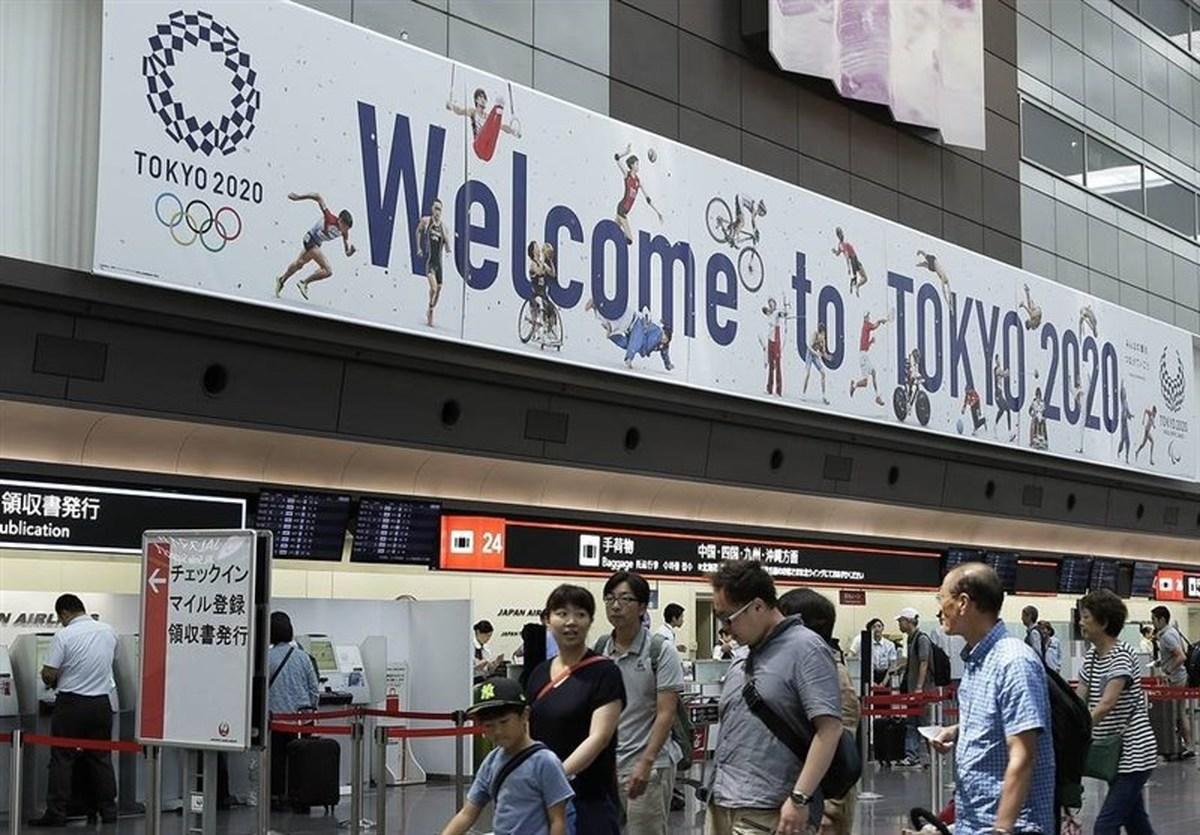 ورود نخستین کاروان المپیکی روسیه به توکیو