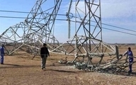 ۲ دکل برق در کرکوک عراق منفجر شد