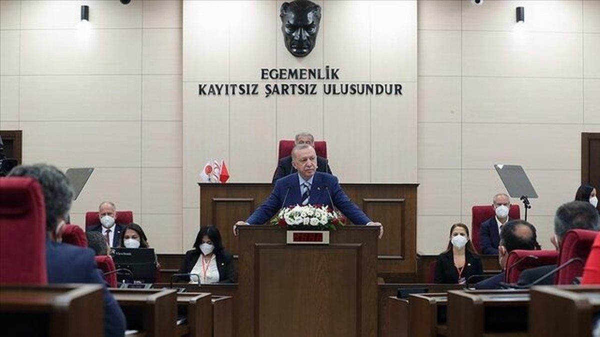 اردوغان: وحدت قبرس شمالی بالاتر از همه ملاحظات سیاسی است