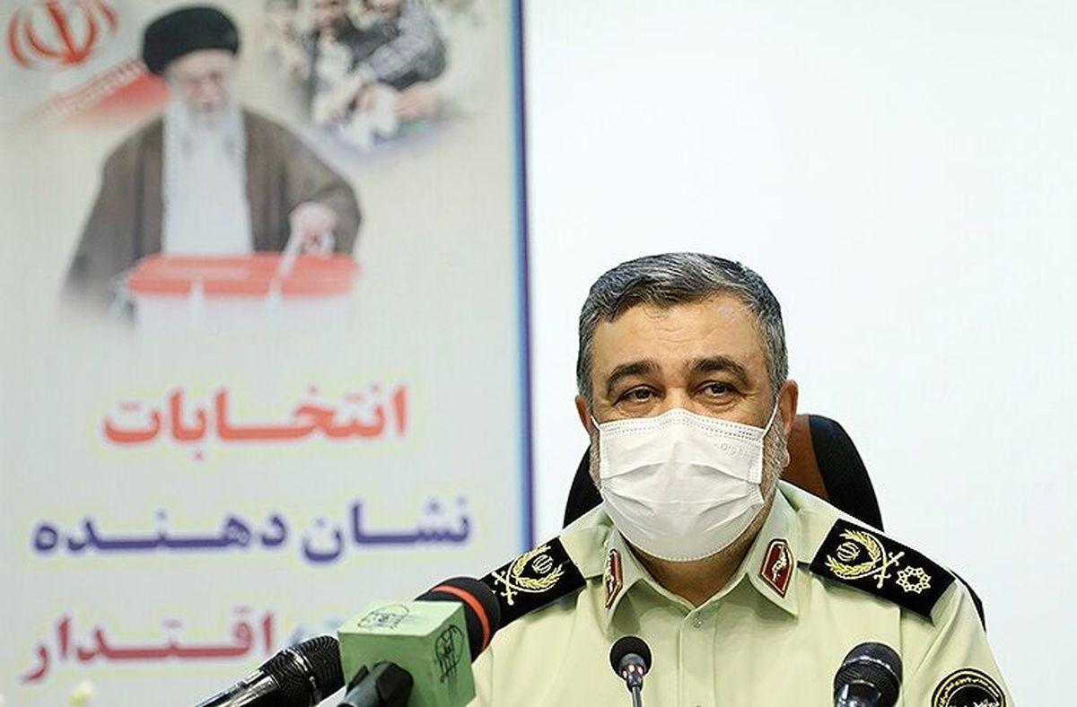 فرمانده ناجا: آمادگی حداکثری برای تامین نظم و امنیت انتخابات