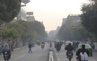 هواشناسی: دوشنبه و سهشنبه هوای تهران، کرج، اصفهان و اراک آلوده میشود