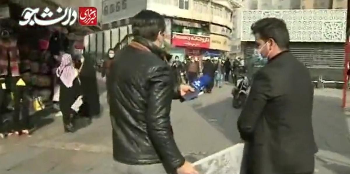 سنگ قبری برای ویروس کرونا! + ویدئو