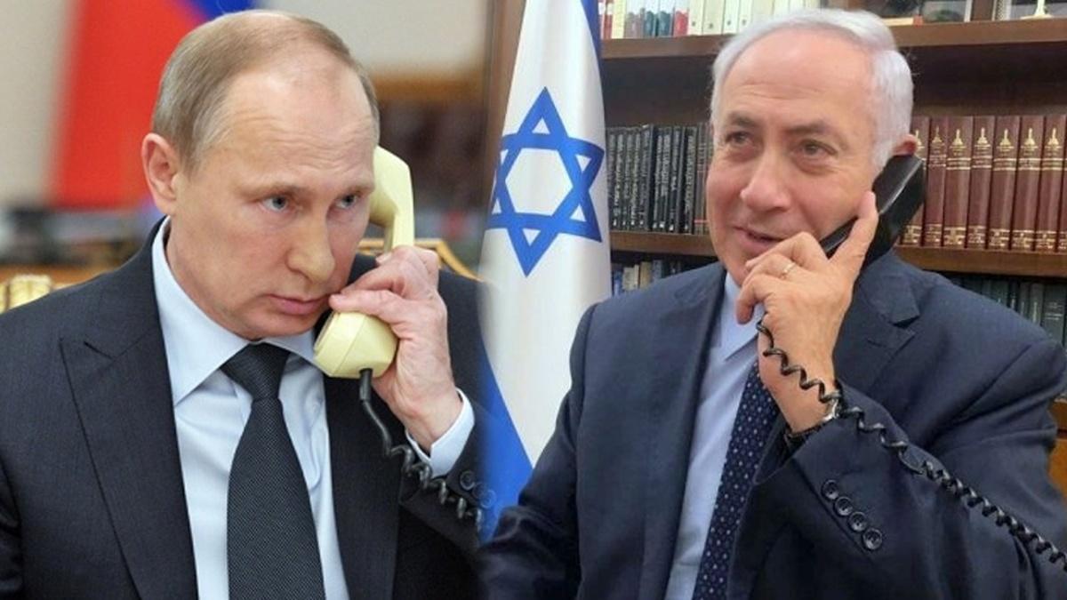 سوریه |  تماس تلفنی پوتین و نتانیاهو