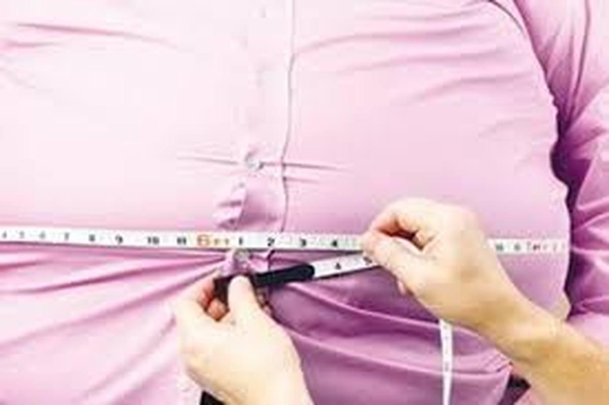 چاقی و اضافه وزن 75 درصد ایرانی ها