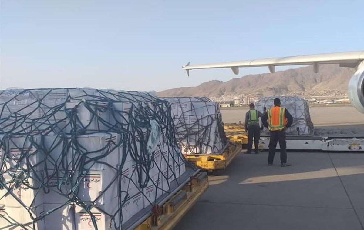 محموله دیگری از کمکهای ایران به افغانستان رسید