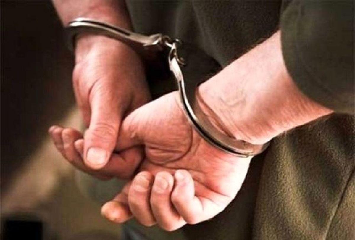 بازداشت جوانی که به مردم شمال توهین کرده بود +عکس