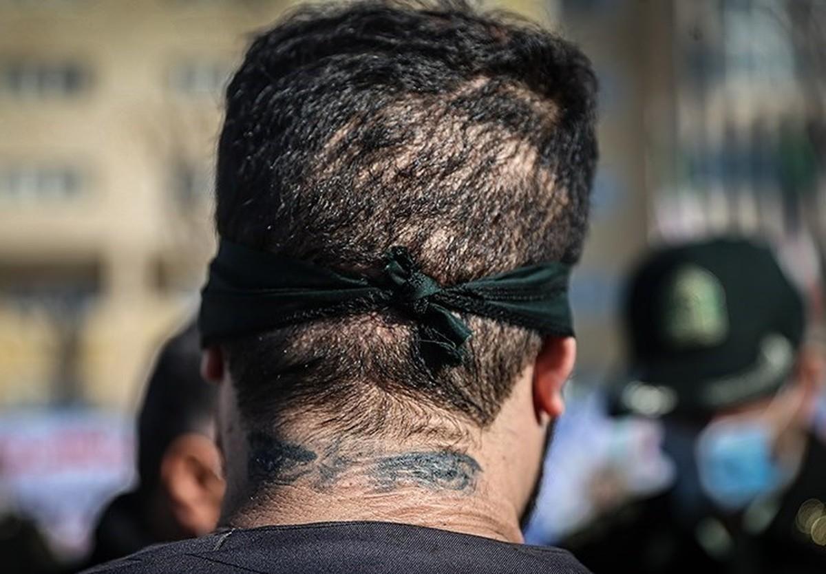 حمله اوباش خیابانی به پلیس با اسید