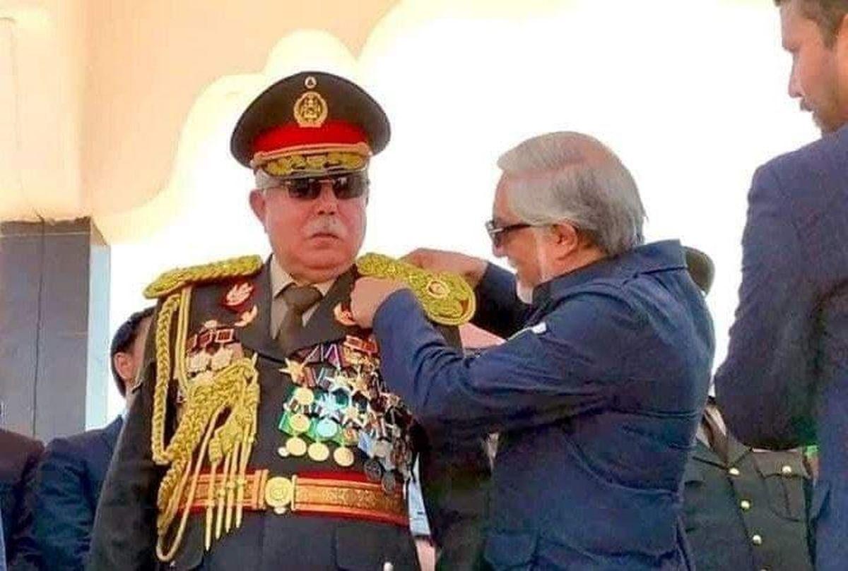 عکسی از ژنرال معروف افغان که به ازبکستان گریخت