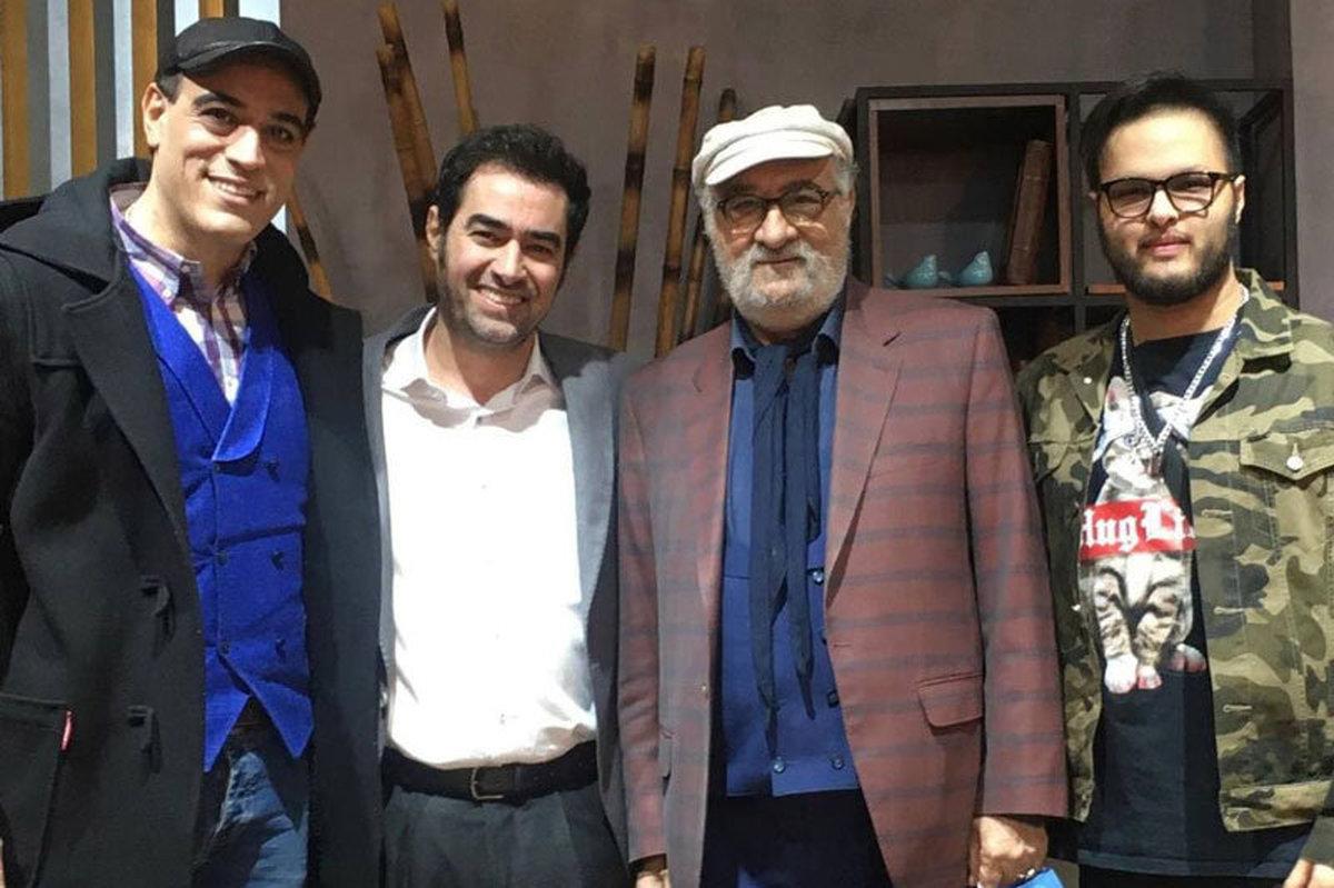 شهاب حسینی و داریوش ارجمند در کنار پسرانشان | عکس