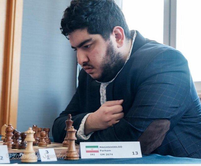 پرهام مقصودلو سوپر استاد بزرگ شطرنج جهان شد