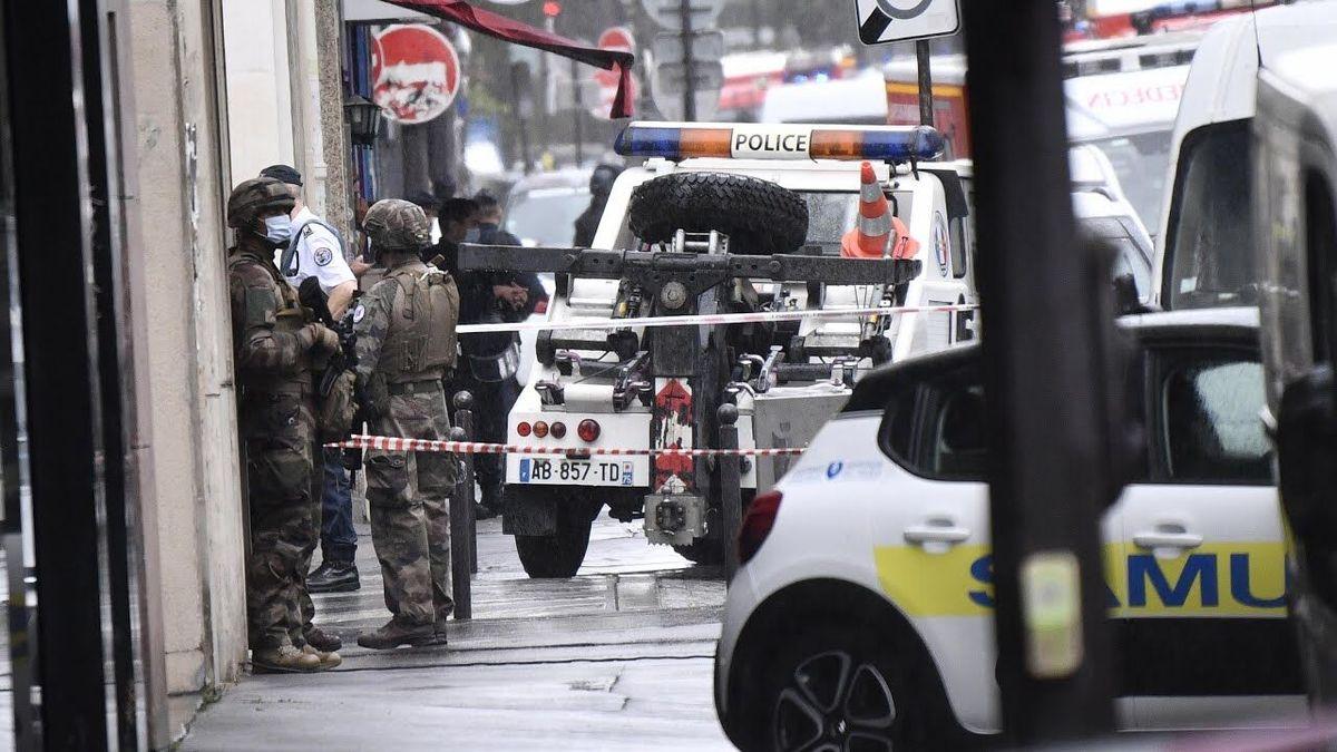 پاریس  |   فردی مورد اصابت گلوله قرار گرفت.
