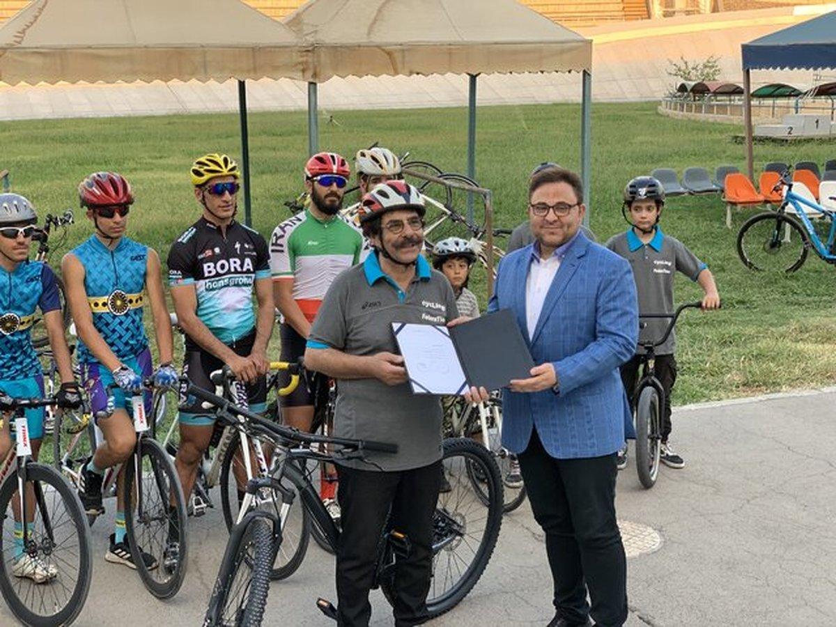 علیرضا افتخاری سفیر رشته دوچرخه سواری شد