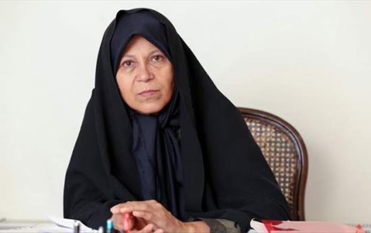 فائزه هاشمی: حضور در انتخابات و رأی دادن به همتی را تکذیب می کنم