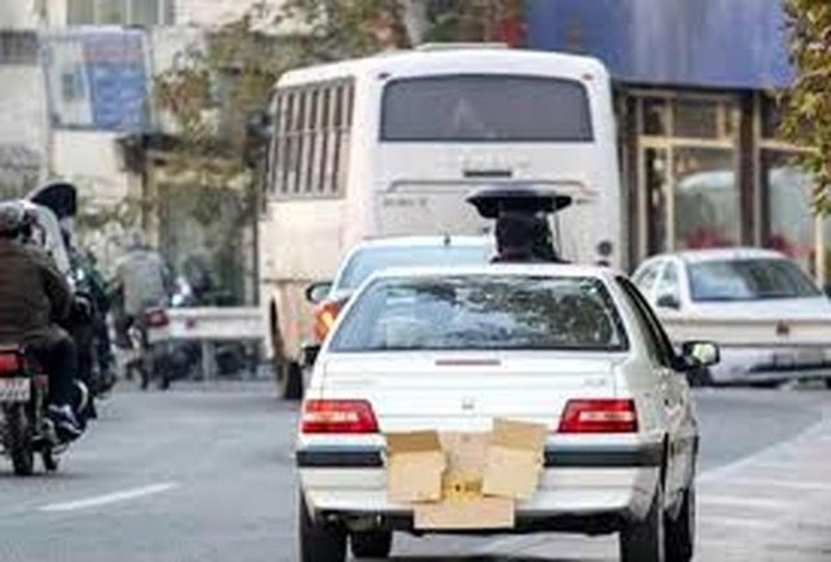 مخدوش کردن پلاک جرم محسوب میشود    قانون شکنان  به جزای عمل خود می رسند