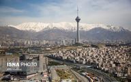 نرخ واقعی فرونشست در شمال و جنوب تهران چقدر است؟   توقف نشست در منطقه بازار