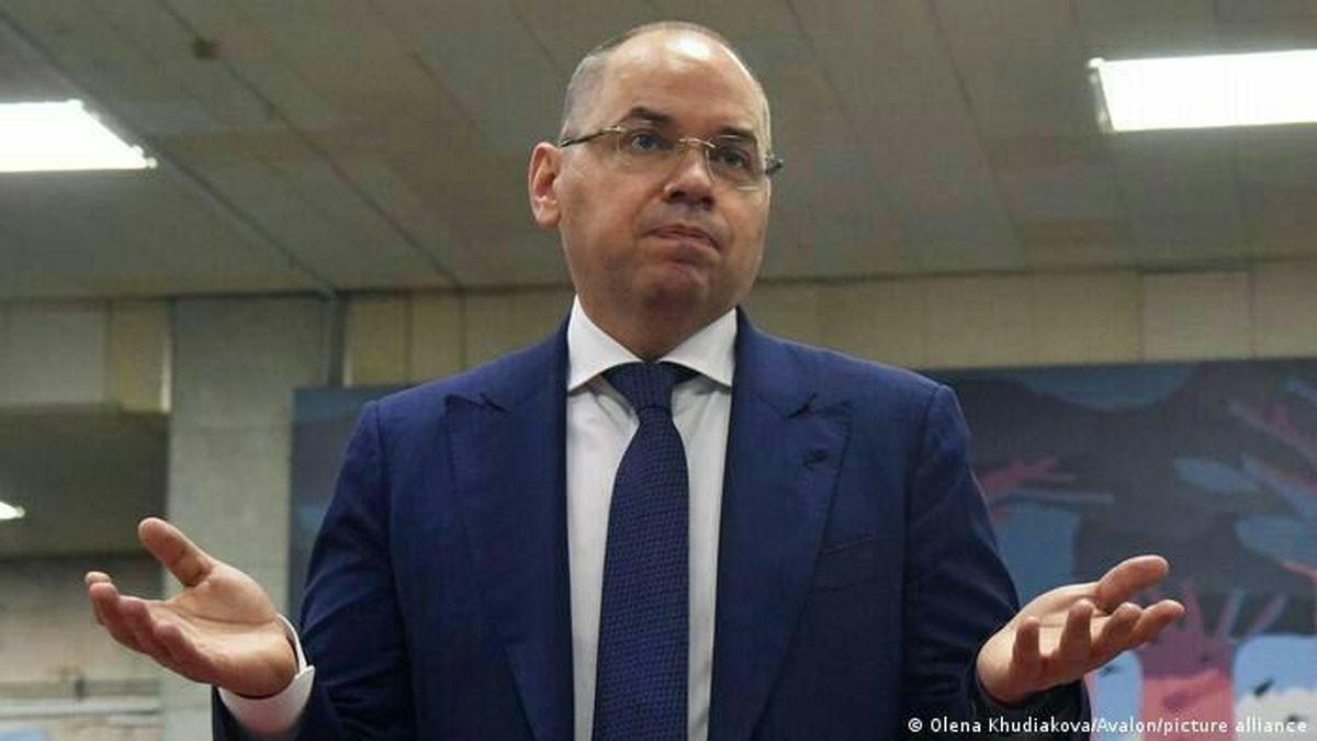 وزیر بهداشت اوکراین به دلیل کندی واکسیناسیون کرونا برکنار شد