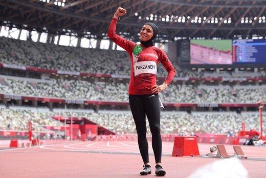 پایان المپیک برای دختر دونده ی ایران
