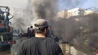 انفجار  | حومه حلب لرزید