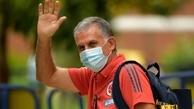 کیروش از کادر فنی تیم ملی کلمبیا خداحافظی کرد