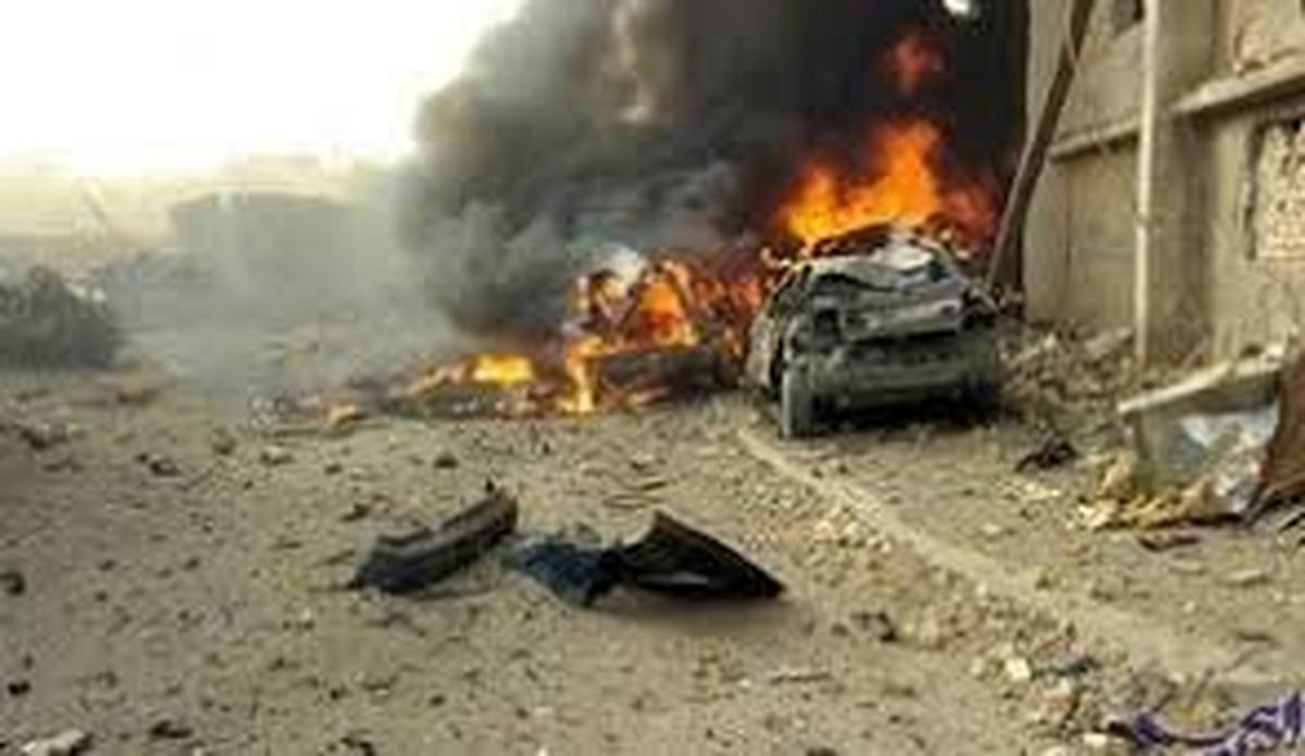 کاروان ائتلاف آمریکایی     یک بمب در جاده سامراء منفجر شد