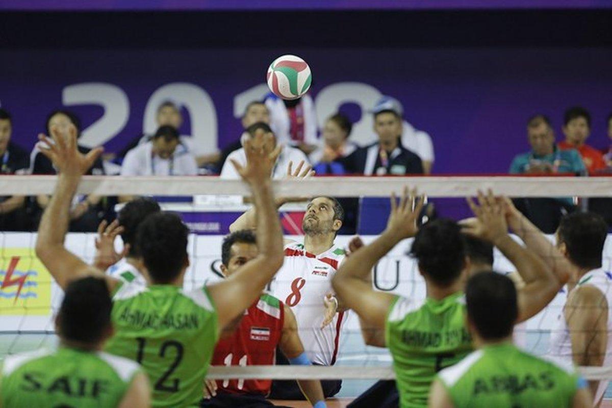 پیروزی تیم ملی والیبال نشسته ایران برابر روسیه در نخستین دیدار تدارکاتی