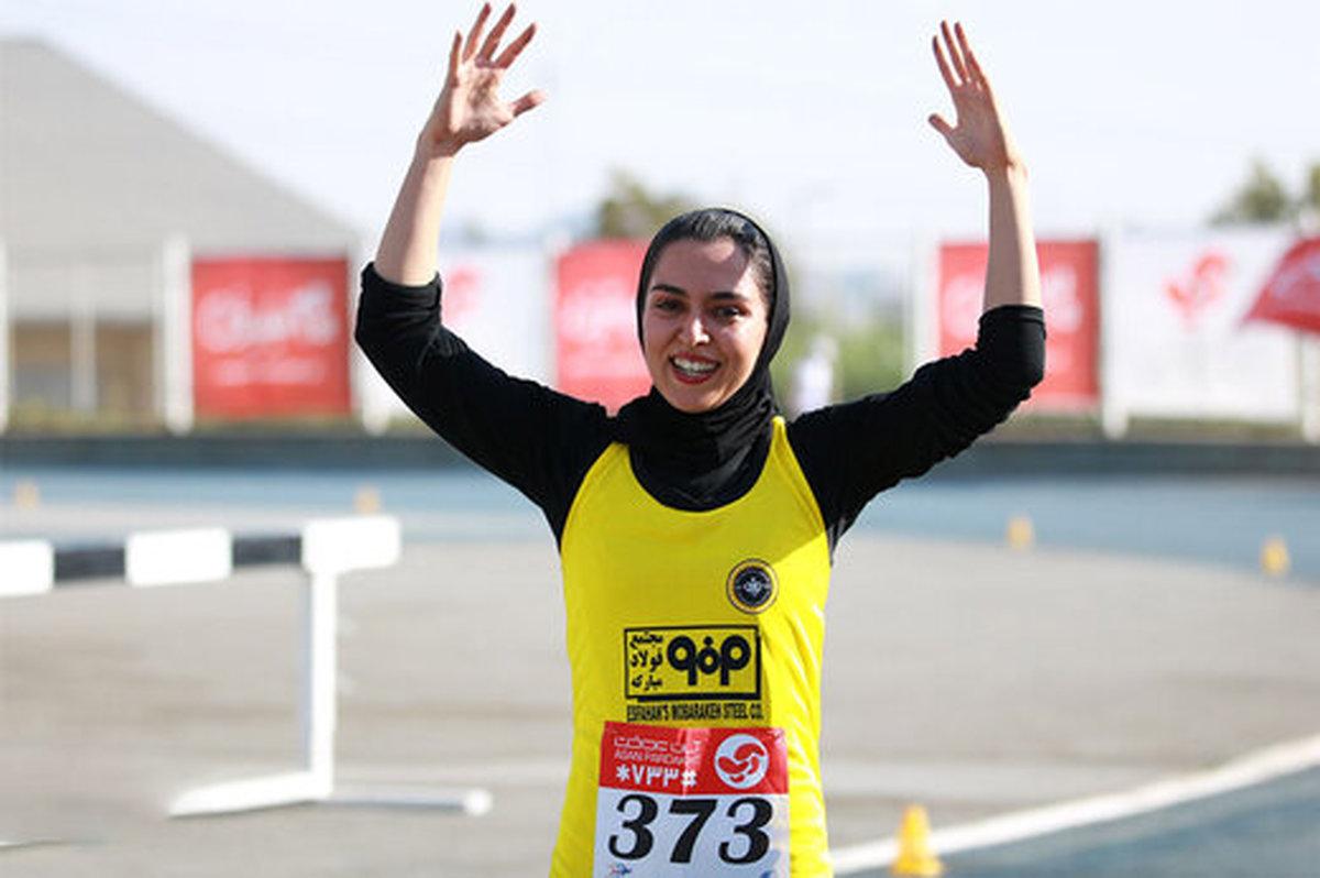 فرزانه فصیحی      سریعترین دختر ایران