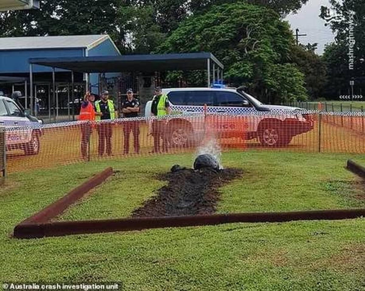 سقوط شهاب سنگ در یک مدرسه در استرالیا