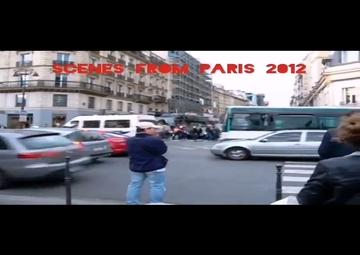 تفاوت وضعیت رفت و آمد در یکی از خیابانهای پاریس + ویدئو
