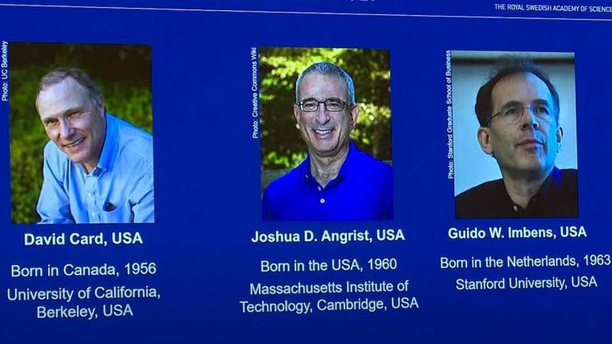 نوبل اقتصاد ۲۰۲۱ به سه اقتصاددان آمریکایی، کانادایی و هلندی رسید