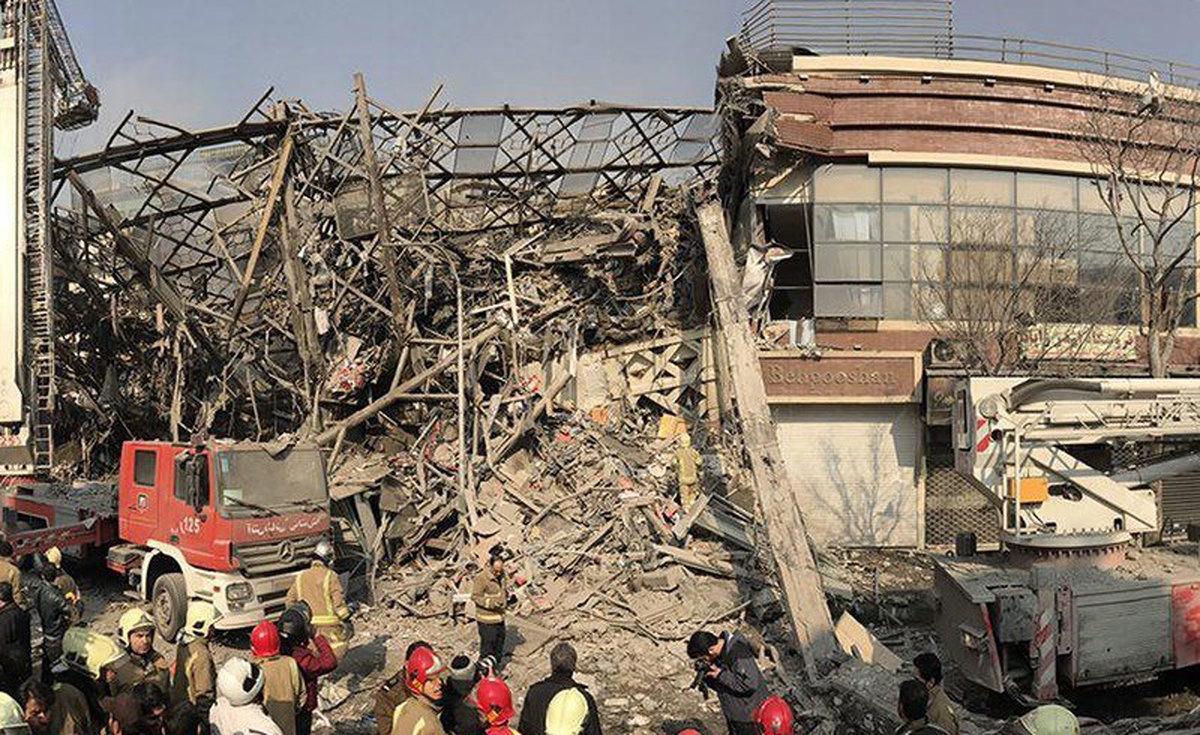 حادثه برج پلاسکو، چگونه به یک بحران ملی تبدیل شد؟   ساختمان پلاسکو به علت نامتقارن بودن، ناپایدار بود   بررسی صلاحیت هیأت ویژه منتخب روحانی در بررسی حادثه