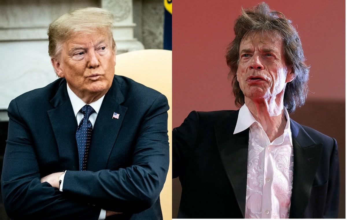 گروه موسیقی رولینگ استونز (Rolling Stones) به دونالد ترامپ هشدار داد
