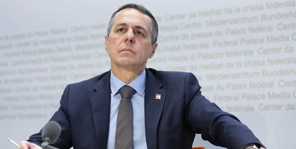 وزیر خارجه سوئیس ترور شهید «فخریزاده» را محکوم کرد