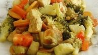 طرز تهیه خوراک قارچ و هویج