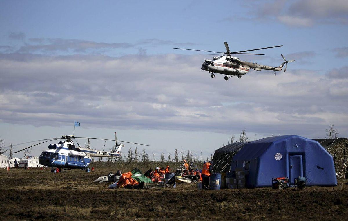 آلودگی قطب شمال |  جریمه ۲ میلیارد دلاری شرکت روسی