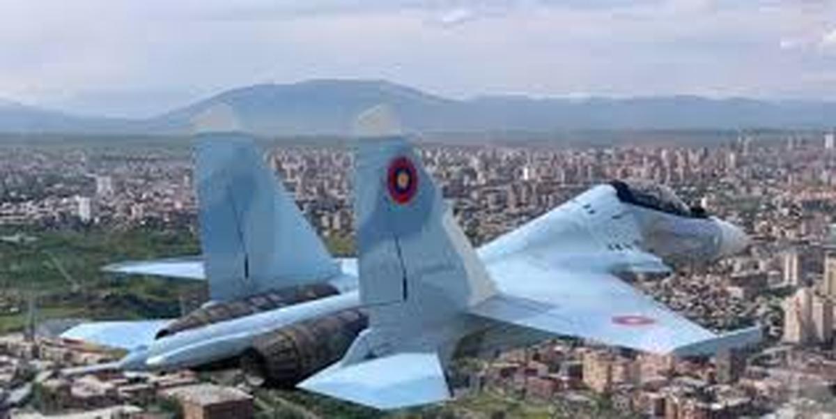 جنگنده «سوخو 30» روسیه سقوط کرد