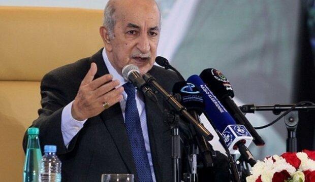 رئیس جمهور الجزایر به آیت الله رئیسی تبریک گفت