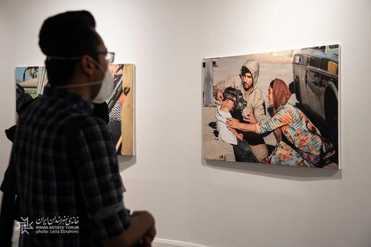 عکاسی سینمایی | افتتاح نمایشگاه عکسهای فیلم «درخت گردو»