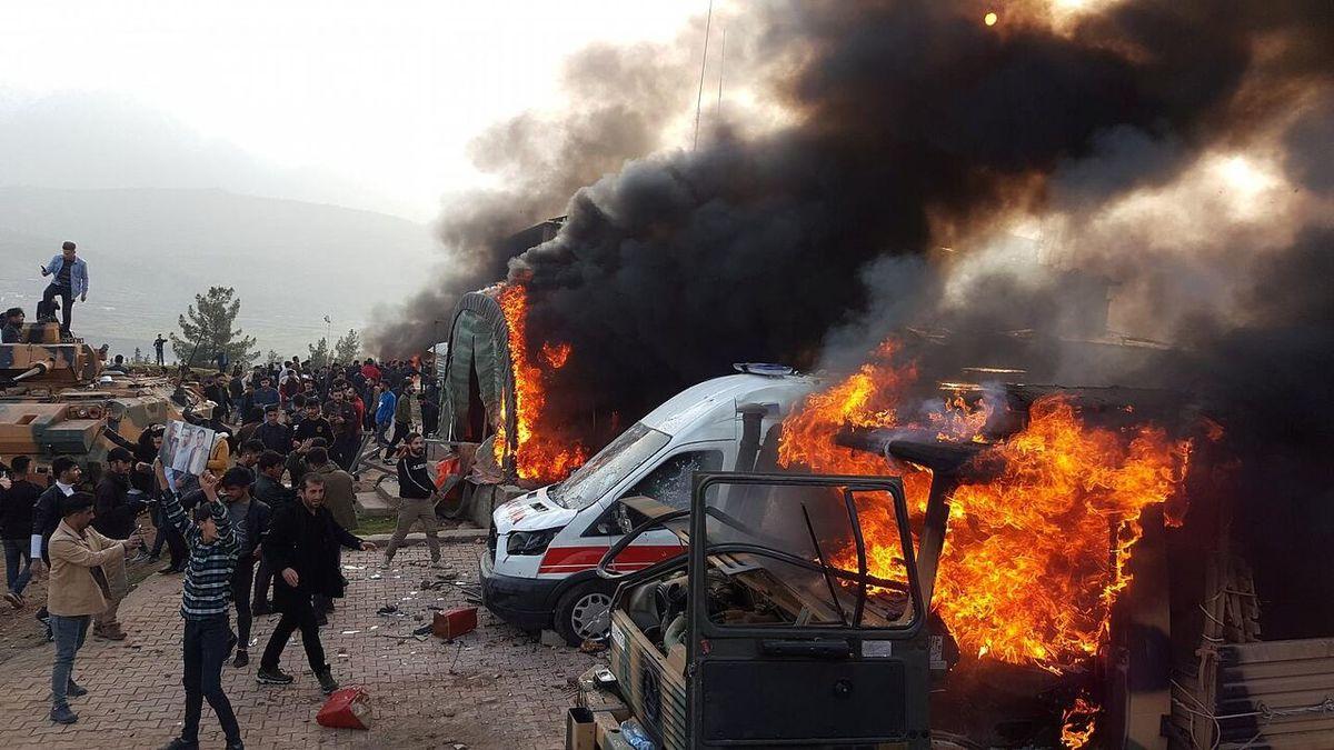 ۳ نظامی ترکیه در انفجار دهوک عراق کشته شدند