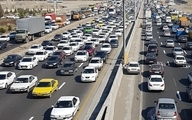 افزایش ۷.۵ درصدی تردد جادهای در شبانهروز گذشته