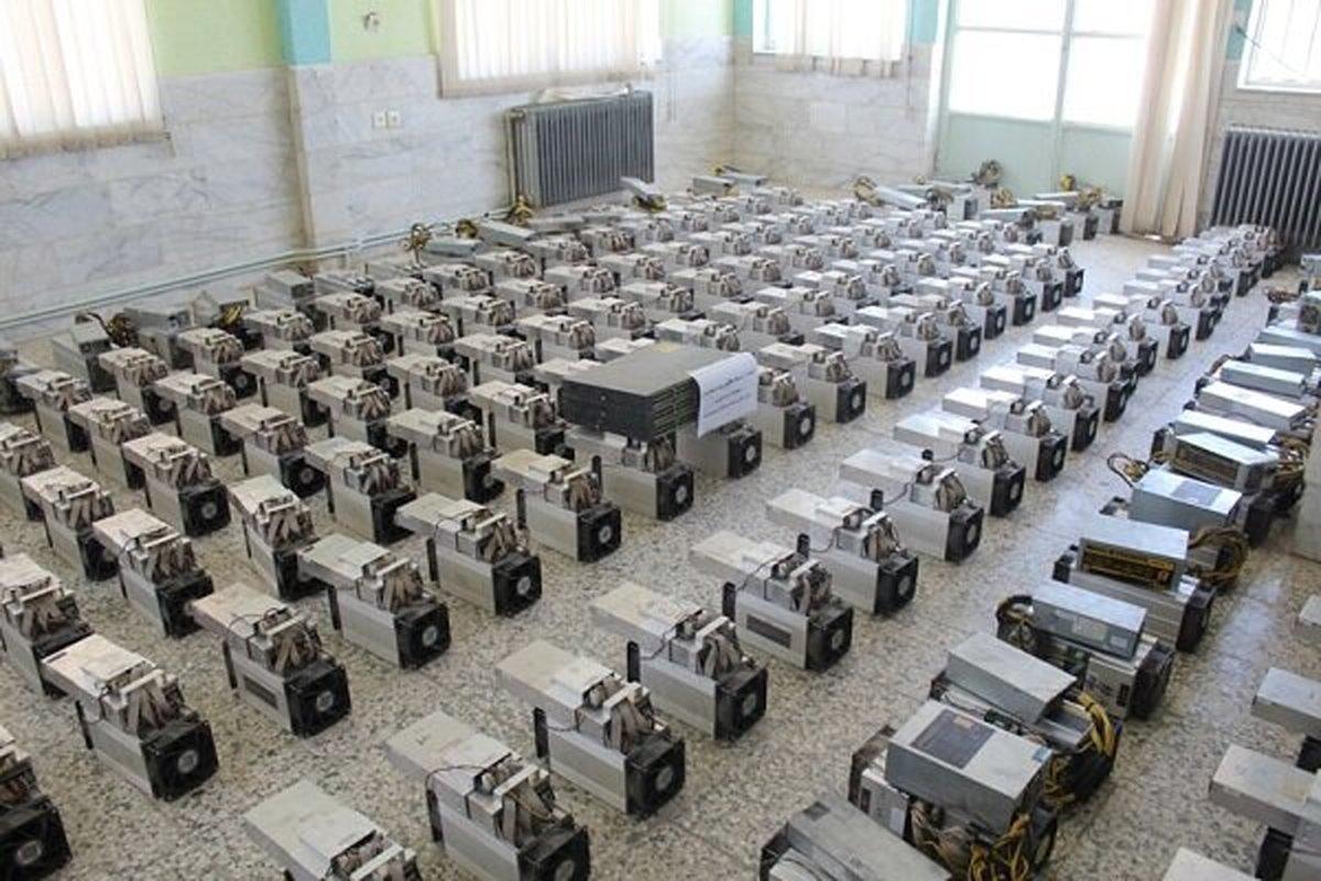 کشف ۱۲۸ دستگاه غیر مجاز استخراج ارز دیجیتال در بوکان