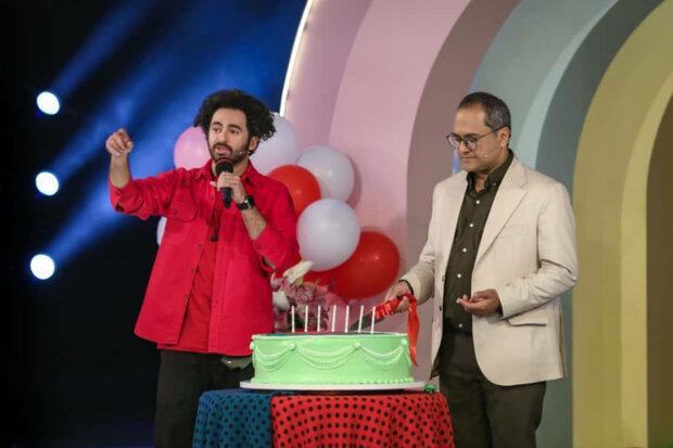 «خندوانه» ۷ ساله شد| جشن تولد همراه با کمدینها