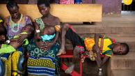 کرونا باعث اخلال در واکسیناسیون سرخک در آفریقای مرکزی +عکس