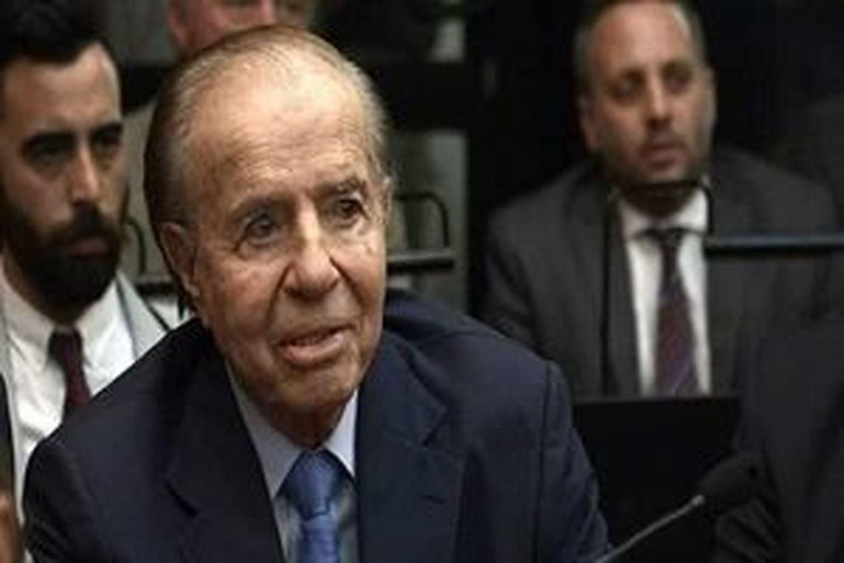 رئیس جمهور سابق آرژانتین |  کارلوس منم درگذشت