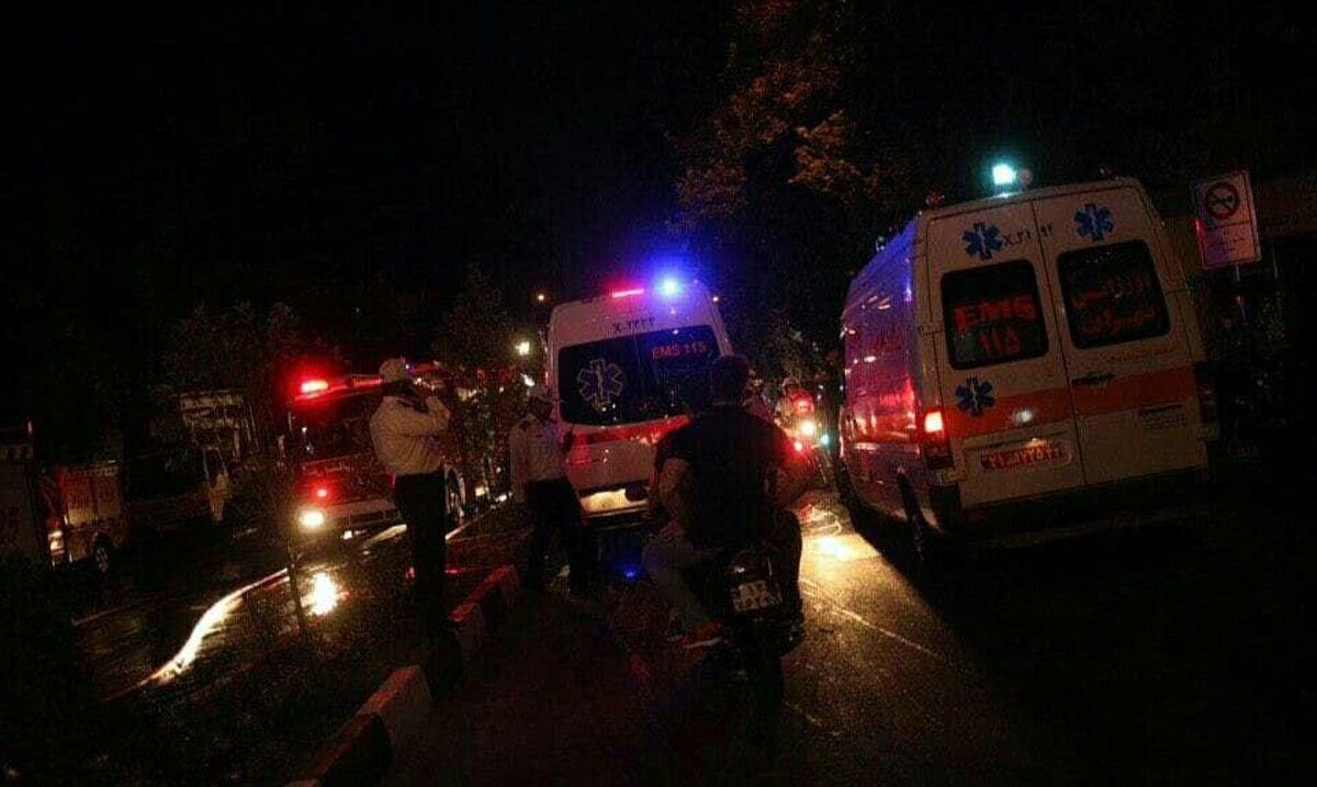 تهرانیها در مسیر منتهی به محل حادثه کلینیک سینا تردد نکنند