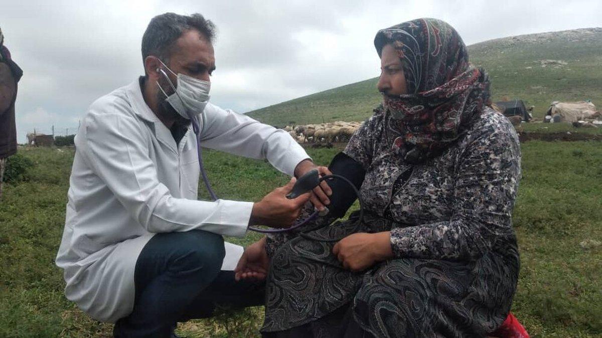 تزریق واکسن کرونا به عشایر بالای ۱۸ سال در خراسان شمالی
