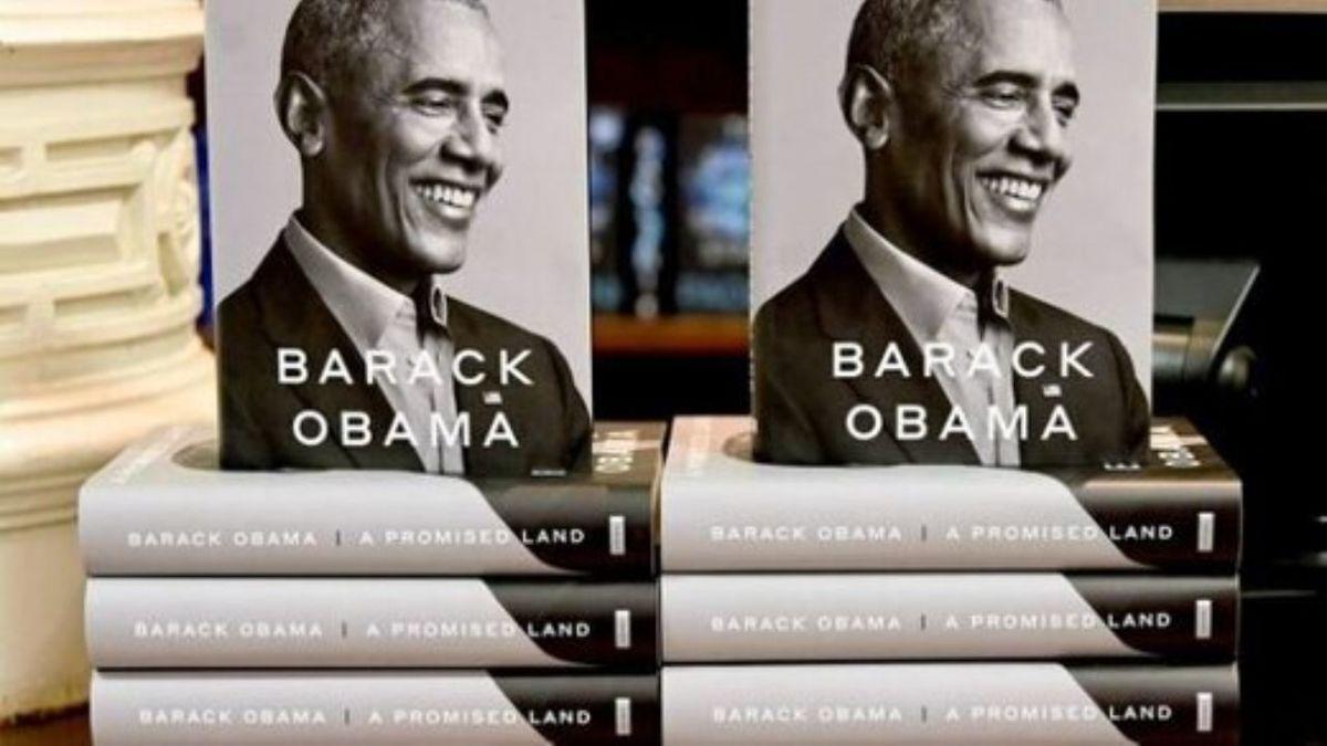 در روز نخست انتشار کتاب خاطرات اوبامارکورد زد.