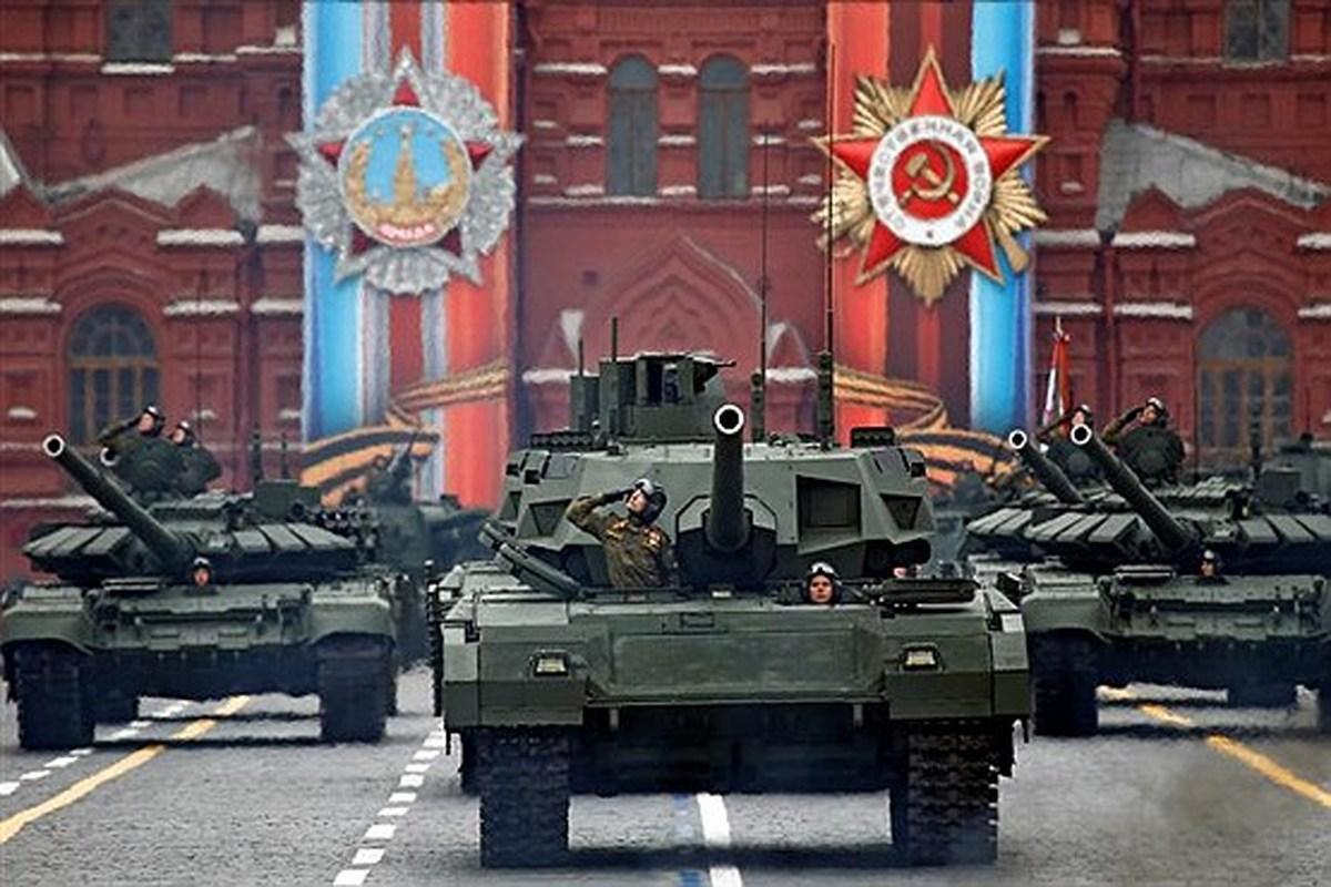 رژه پیروزی در شهر مسکو روسیه | عکس