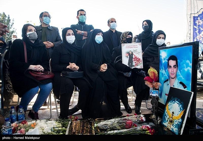 برگزاری  مراسم چهارمین سالگرد آتشنشانان شهید حادثه پلاسکو + عکس