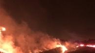 نیروهای امدادی برای اطفای حریق در مناطق مختلف گیلان حضور دارند.