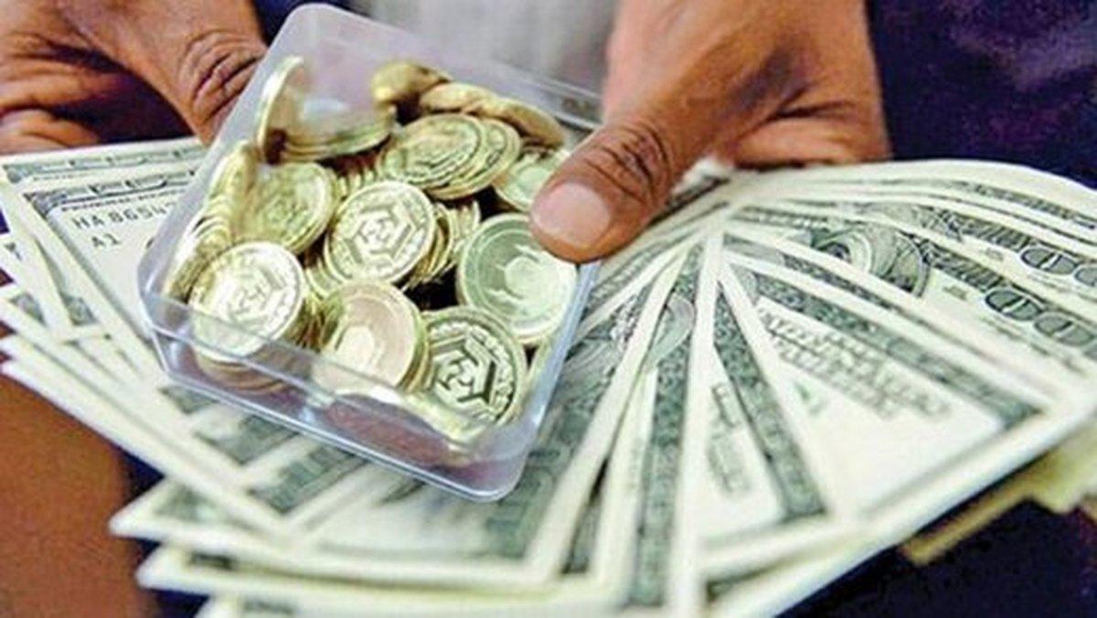 ضربه فنی سکه با نرخ دلار و انس جهانی | سکه به زیر ۱۱ میلیون ریزش کرد